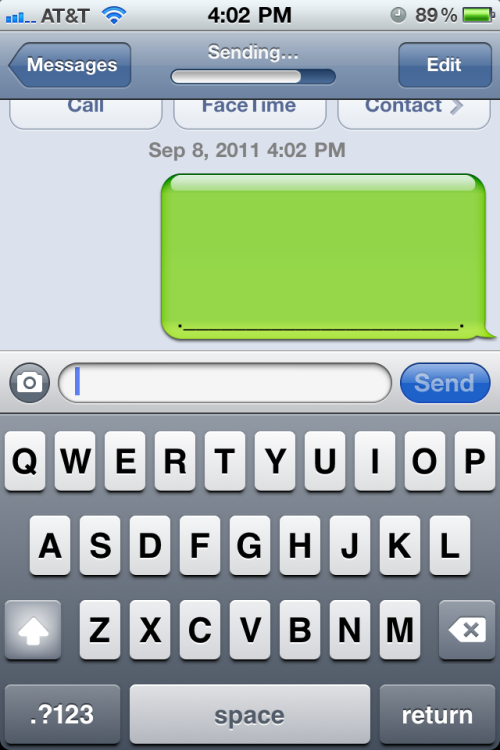 This is how you send a whale via text message on an iPhone. No magic characters involved! That is all. (Thx JR)