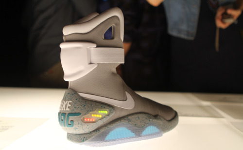 Nike Air Mag (via Nice Kicks) Marty McFly's Nike