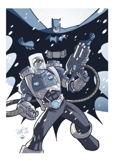 Batman and Mr. Freeze