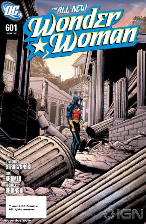 """J. Michael Straczynski's Wonder Woman puts a new spin on Diana's origin in a way that amplifies her mythological roots while modernizing the backdrop against which her story is set… [He's] succeeded in raising fan interest in Wonder Woman by providing a fresh, exciting new world for her to inhabit."" - Dan Phillips, IGN  Just finished reading the Odyssey arc that Straczynski spearheaded and found it a very compelling read, a unique take on a truly fascinating character.  Wonder Woman can be an extremely tricky hero to get right, but Straczynski's take manages to do just that."