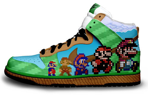 Cool Shoes # 3 DUH DUH DUH DA DA DUH DUN! Thats the Mario theme song duh