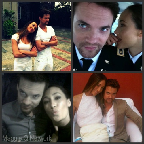 Maggie Q and Shane West twitter pictures :)