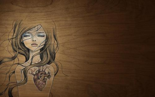 A wallpaper addict such a myself has to have at least one Audrey Kawasaki piece. So I'd like to share this w everyone. Its a HD Widescreen 1680x1050. Enjoy.