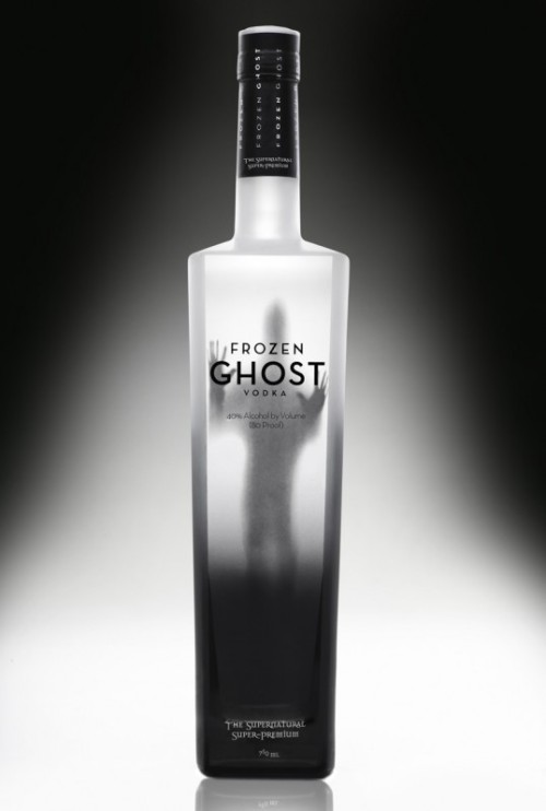 Some Frozen Ghost Vodka today? (The Supernatural Super-premium)