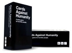 maxistentialist:  Cards Against Humanity is currently sold out while we wait for both a second printing and our first expansion. To tide you over, we're going to give away two copies of Cards Against Humanity on Tumblr. At 11:59pm next Friday (9/16), we'll pick two random people who have reblogged this post and contact them to get their addresses. P.S. You can always go to CardsAgainstHumanity.com and make your own set for free.