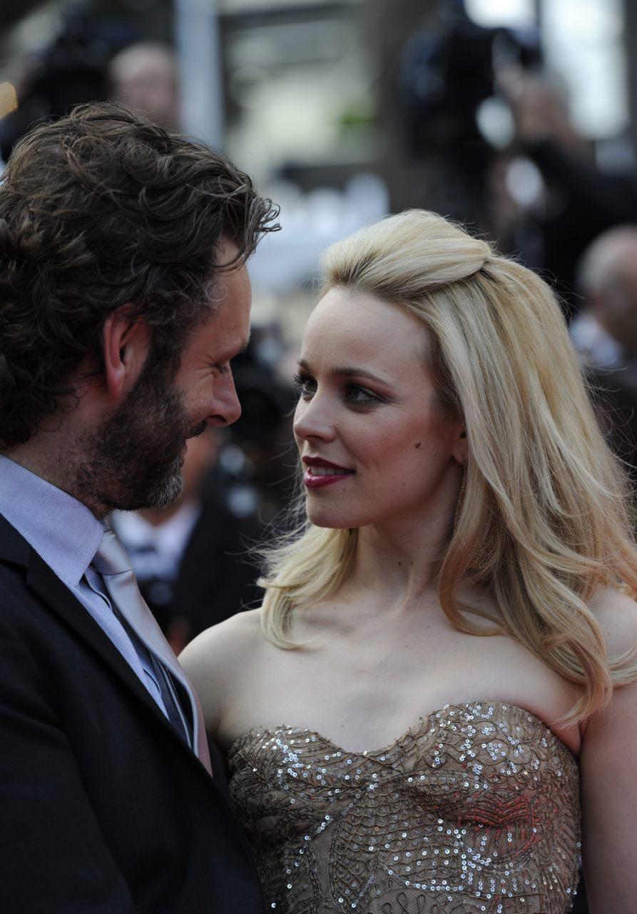 Rachel McAdams & Michael Sheen at Cannes.