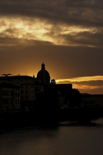 sightsounds:  Sunset Cestello Florence (by M4tt0)