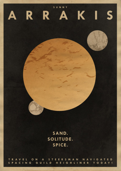 Sunny Arrakis illustration by DrFaustusAU :: via drfaustusau.deviantart.com