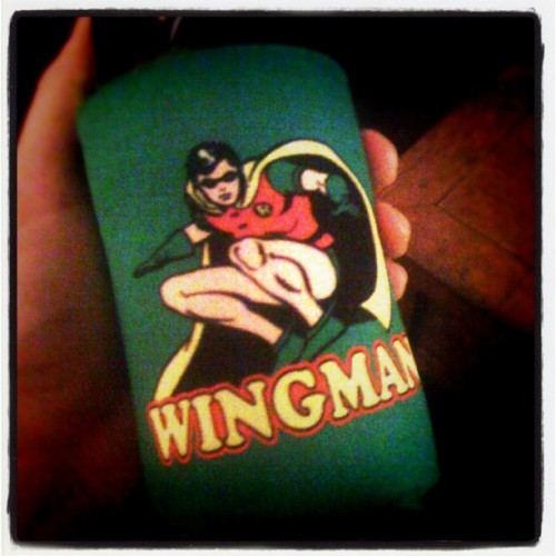 One of my few #DragonCon purchases. Robin is my wingman. (Taken with instagram)