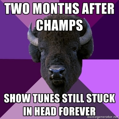 fuckyeahbandbuffalo:  I think we all know this feeling…  i had last year's show stuck in my head at THIS YEAR'S BAND CAMP.