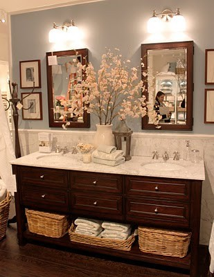 cozy luxe bathroom