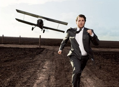 cheesyblaster:  Seth Rogen - North by Northwest
