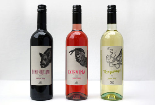 Fifteen Londons Signature Wine Designed by Superfantastic