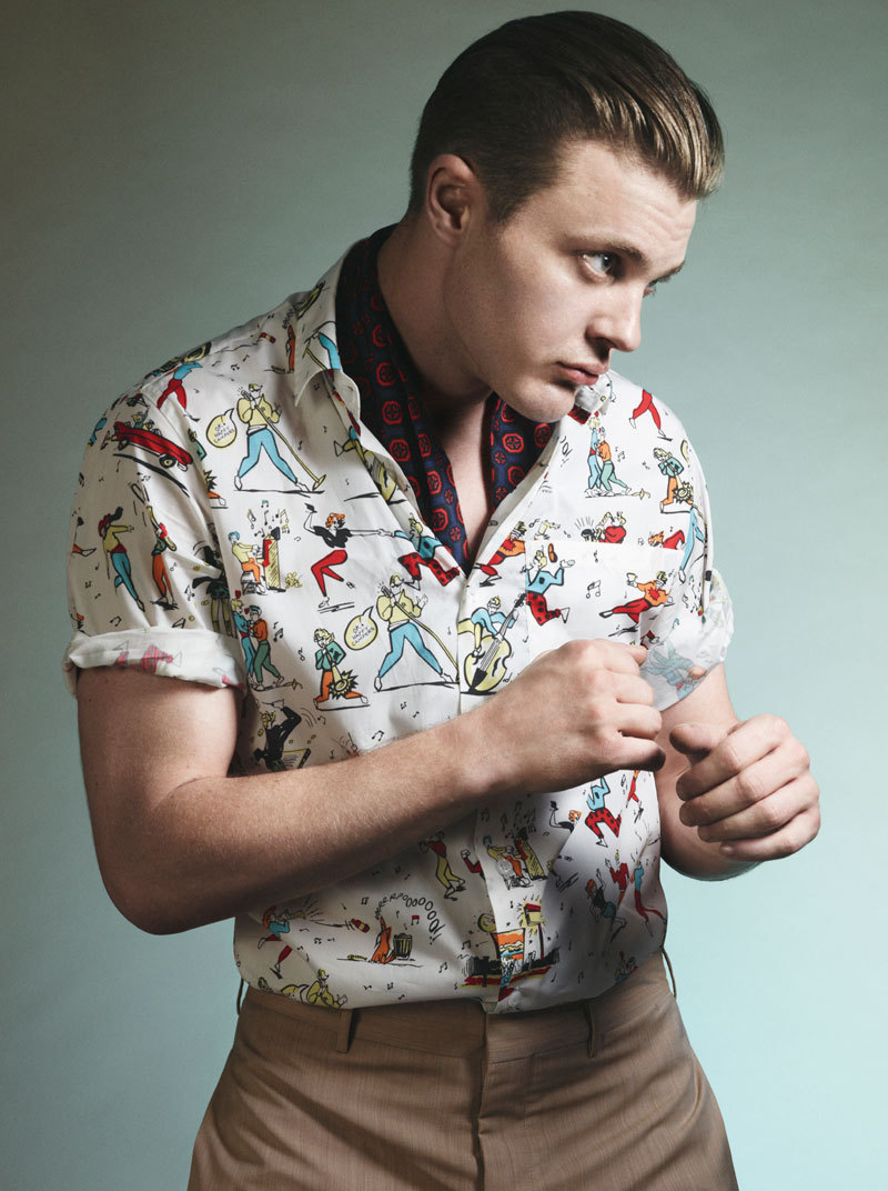 bohemea:  Michael Pitt for Prada Spring/Summer 2012 by David Sims WHAT? HOW?