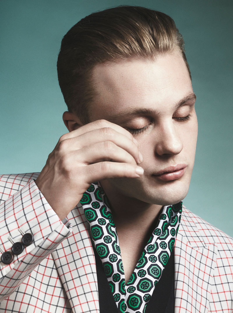 bohemea:  Michael Pitt for Prada Spring/Summer 2012 by David Sims The photos from this campaign made me weep from the beauty of it all!
