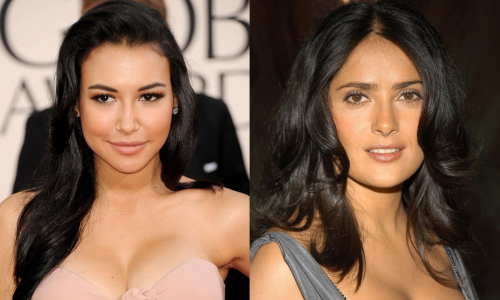 Salma Hayek could play Santana Lopez's mom on Glee, right?
