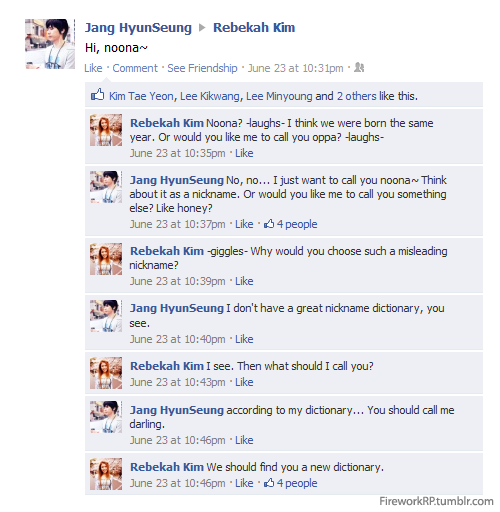 See how Hyunseung and Bekah's relationship unfold only at Firework RP!!