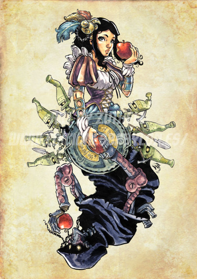 venoir:  Steampunk Snow White by *Zuthell