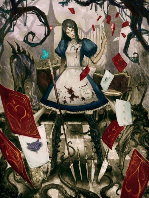 inkwings:  Alice Madness Returns by masateru