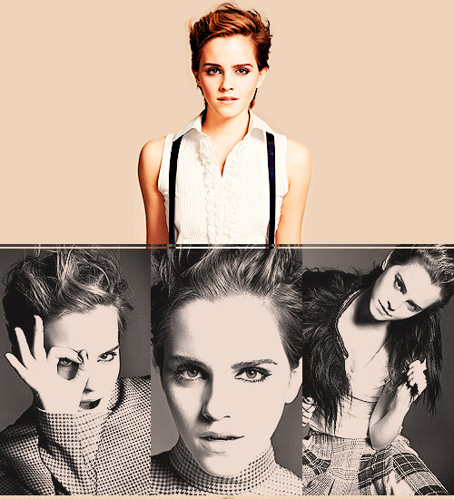 Emma Watson by J. Welters for ELLE FRANCE (October 2011) via thebeautyofsolitude
