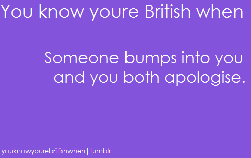 youknowyourebritishwhen:  And vice versa  gabis2r  We Canadians do this as well!