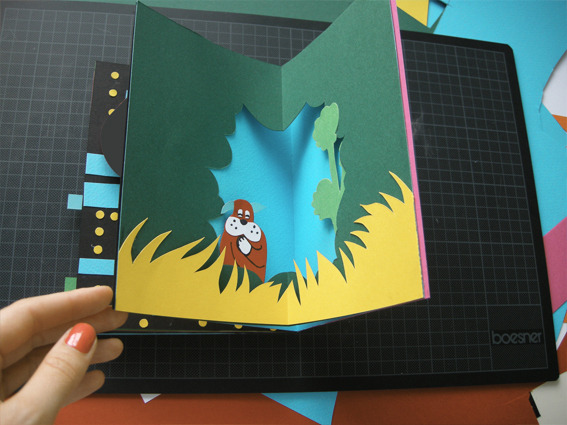 surrogateself:  80s Video Games Pop-Up Book