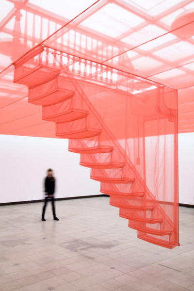 less-ismore:  Do Ho Suh, Staircase-III, 2010.