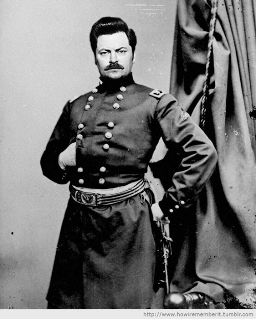 howirememberit:  General Donald R. Swanson, 1864