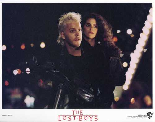 lobbycards:  The Lost Boys, US lobby card. 1987