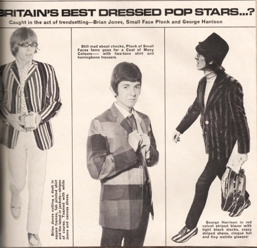 Britain's best dressed pop stars..? (1966)