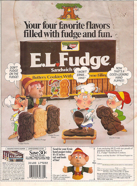 E.L. Fudge Source: Flickr