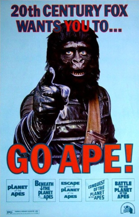 Amazing Planet of the Apes Propaganda poster!