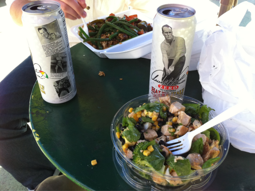 Lunch with Arnie.