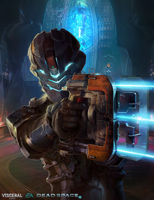 Promotional illustrations for DeadSpace 2 demo launch.  Deadspace 2 - by OpusArtz  Website || CGHUB || Facebook