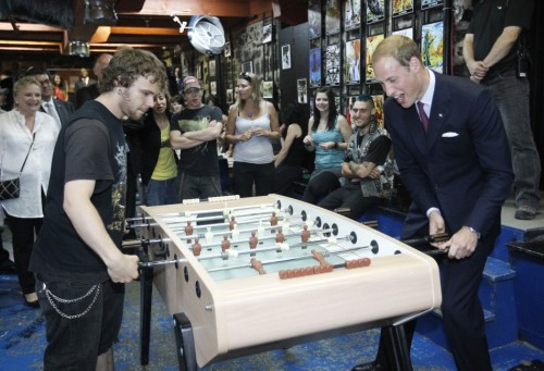 willandkatebee:  Foosball  I konw game this. William you aceppt one a game for me?