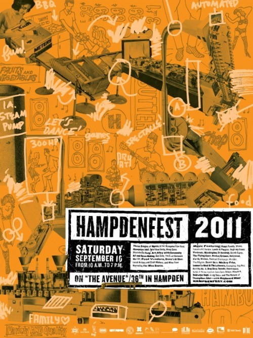 baltiamore:  Hampdenfest Tomorrow… RAIN or SHINE!!!