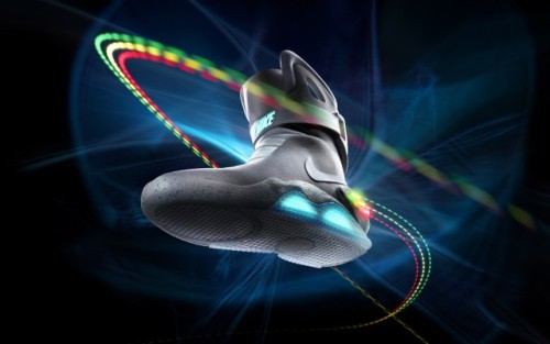 laughingsquid:  Nike MAG Back to the Future Sneakers Being Auctioned For Charity  Awsome sneakers