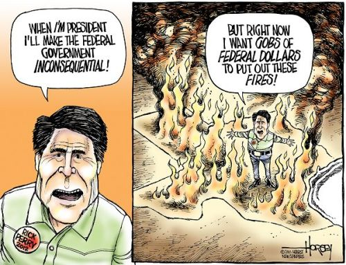 abaldwin360:  think4yourself:  (via Cartoons of the Day- Rick Perry Redeux | The Political Carnival)