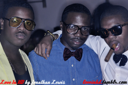 Shoutout to Duckie Brown for his smooth Fashion's Night Out party