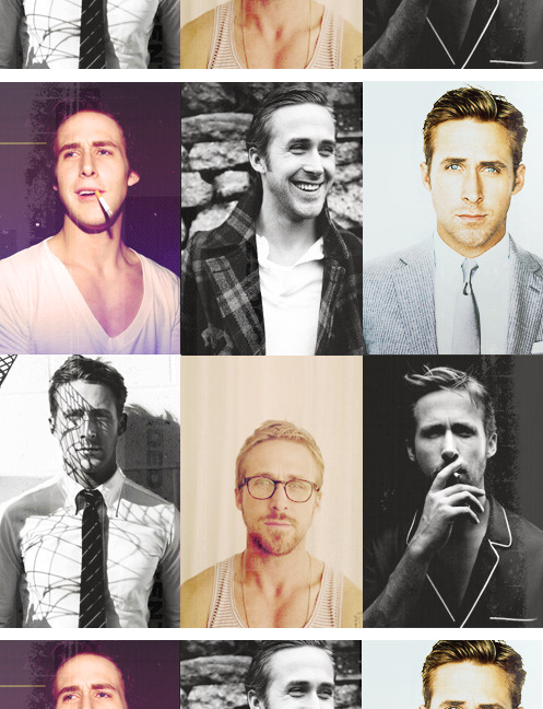 50 FACES I AM A FAN OF→ Ryan Gosling [#32]