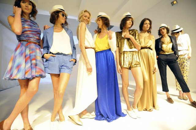 Misha NoNoo S/S '12 We told you we couldn't get enough…