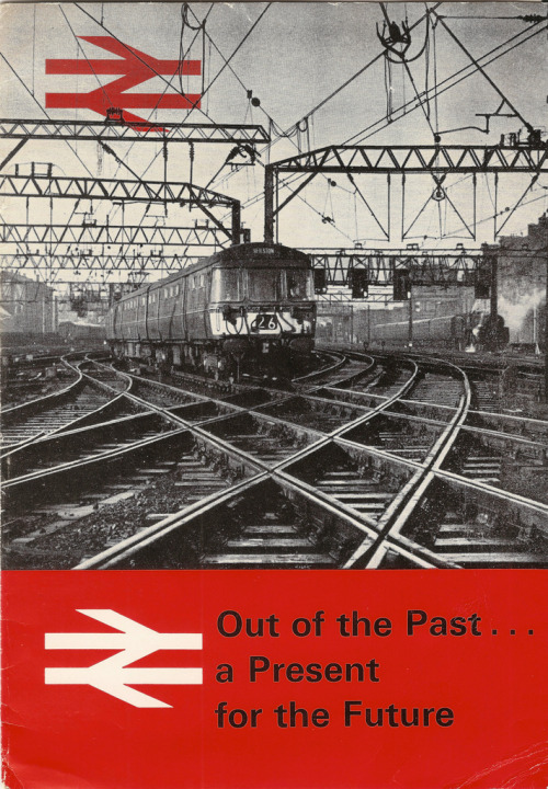 squaredoor:  Out of the Past … a Present for the Future brochure issued by British Rail, Glasgow stations - 1966