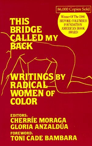 This Bridge Called My Back - Writings by Radical Women of Color I don't care what gender studies or queer theory class you've taken, you need to read this book, but be warned, it is a rare find and might expensive. It contains several essays by womanists discussing their experience, racism, poverty, how racism pervaded the feminist movement in the early 1980s and most importantly the individual experiences of asian pacific, black, american indian and latina/chicana women. This words you find in this book and the truths that will make your soul sick are imperrative for understanding the history of racism, feminism, systematic oppression and white privilege. These are stories that have, even today, been swept under the rug and out of sight.  You need to read this fucking book.