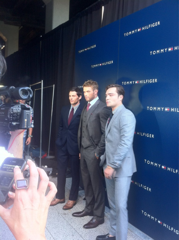 @TommyHilfiger: Ed Westwick has joined us! #NYFW  http://t.co/eA6UbAE