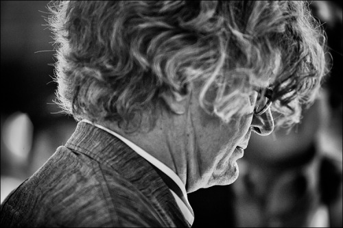 legendary film maker wim wenders (paris, texas; buenavista social club) at the premium screening of his latest film pina at 2011 toronto international film festival.