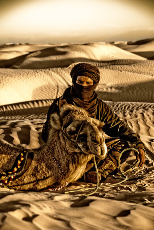 culturalcrosspollination:  Bedouin man and his camel
