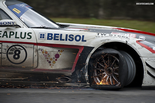 automotivated:  Mercedes-Benz SLS GT3 - KRK Racing (by Brecht Decancq Motorsport Photography)