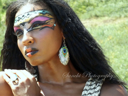 Veronica;African inspired Diva Warrior Shoot