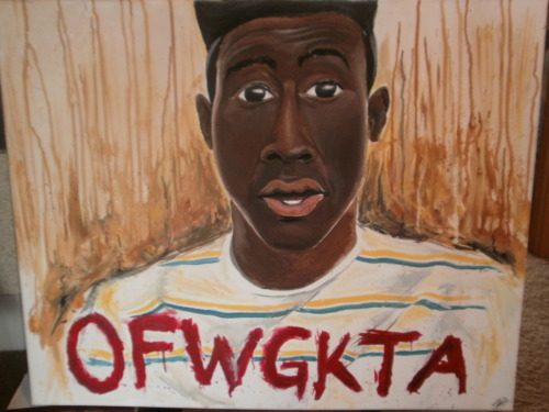 a New piece i did. #tyler #oddfuture #wolfgang Feedback please. Send me an inbox if you are interested  http://www.facebook.com/pages/Zach-Kulish-Art-work/135905333152417