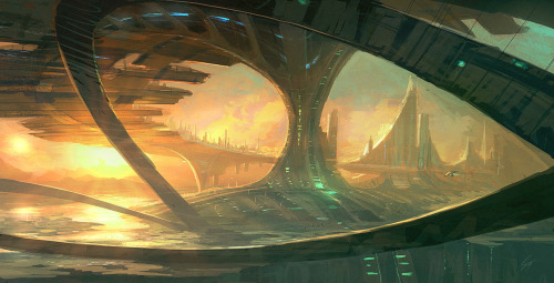 lilikoigirl:  Speedpaint: Bridge Cities - ANTIFAN-REAL